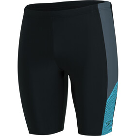 speedo Dive Jammer Men black/usa charcoal/hypsonic blue
